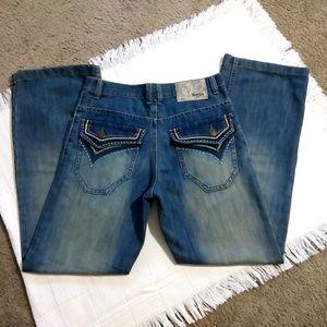 South Pole Premium Edition Blue Jeans Size 34